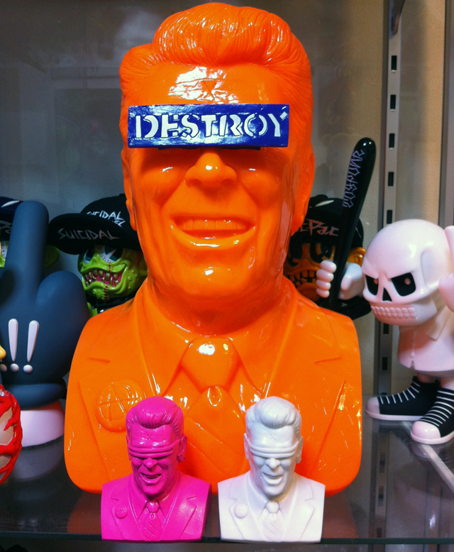 Frank Kozik�ʥե�󥯡������å��ˡ�The Gipper�ʥ������åѡ��ˡ�Orange