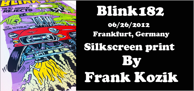 Frank KozikBlink182182:Frankfurt