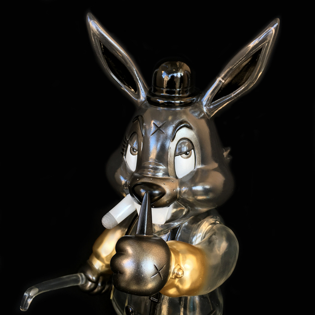 Frank Kozik x BlackBook Toy:A Clockwork Carrot Lil Alex 11インチフィギュア Darkness Edition