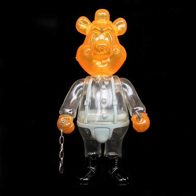 Frank Kozik x BlackBook Toy:A Clockwork Carrot Dim 11インチフィギュア Milk Edition